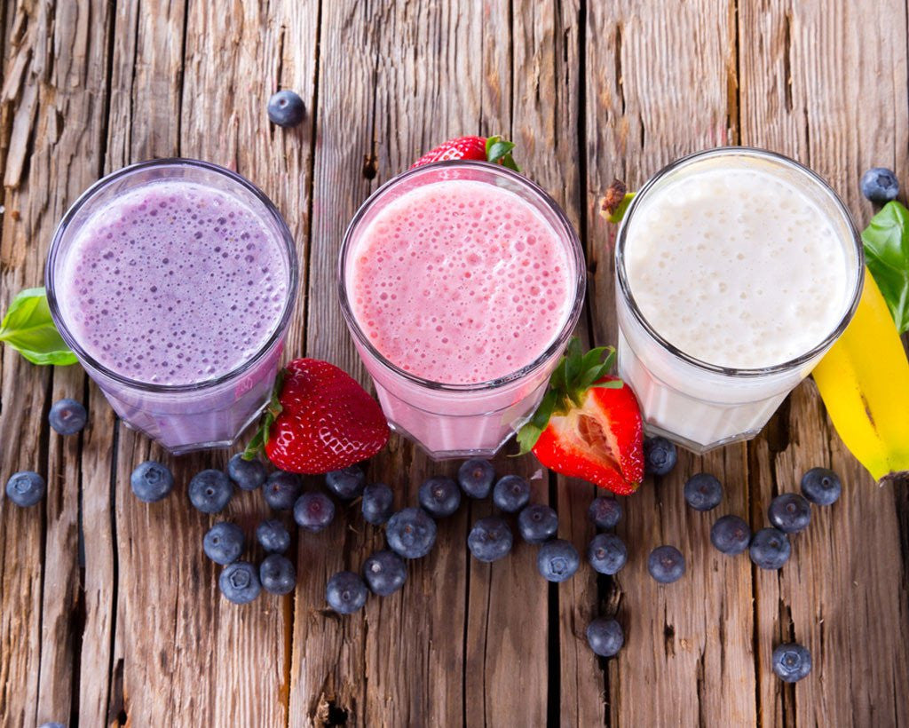 Fruity Coconut Milk Smoothies