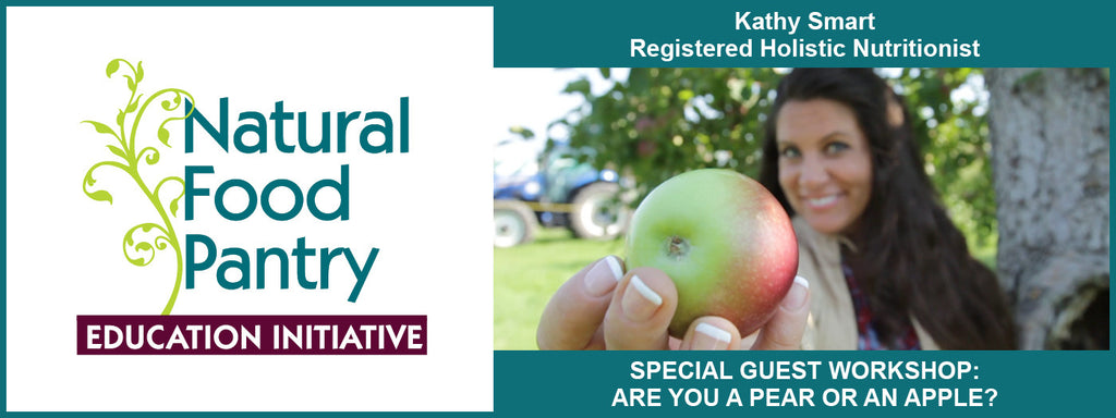 March 30:  ARE YOU A PEAR OR AN APPLE? SPECIAL GUEST WORKSHOP