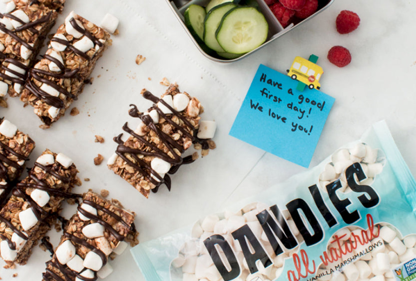 No-Bake S'mores Granola Bars