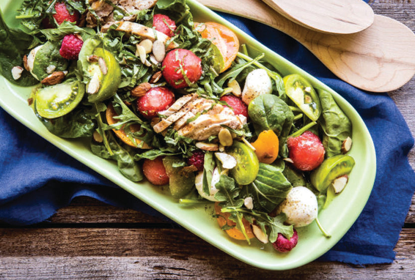 Berry Melon Chicken Salad