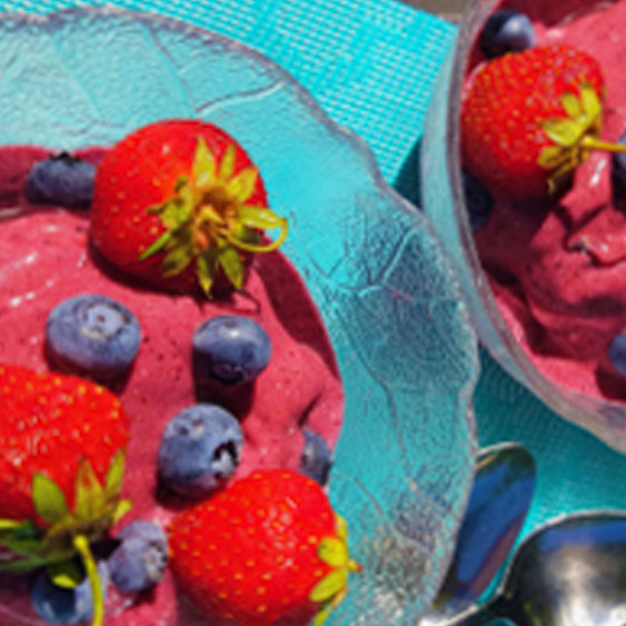 Natasha's Summer Fruit Sherbert