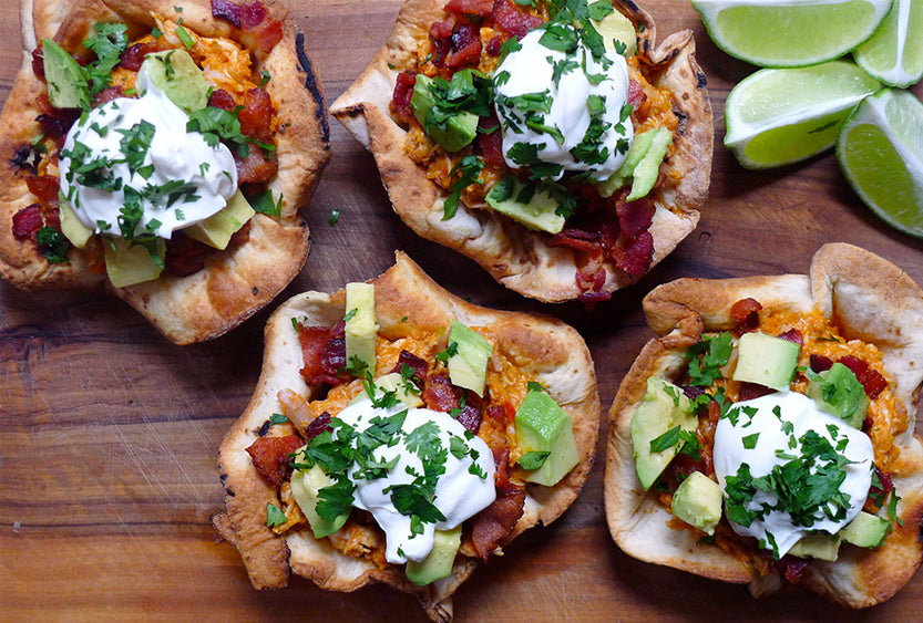 Chicken Ranchero Taco Bowls