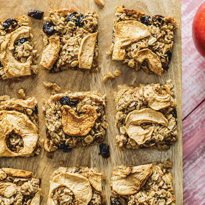 Cranberry Apple Banana Bar Recipe