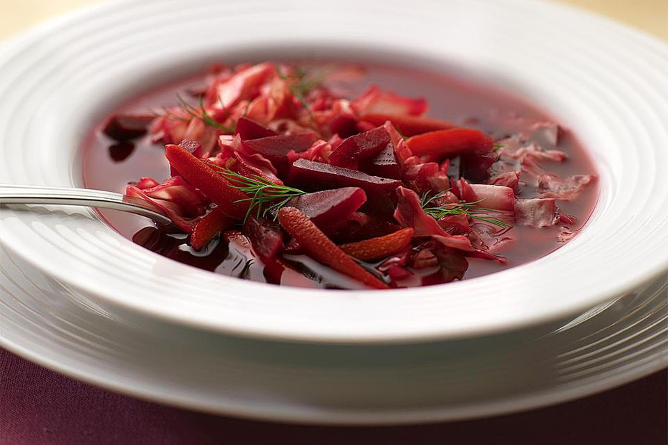 Beet and Vegetable Soup