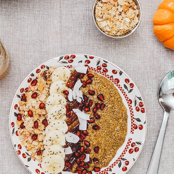 Pumpkin Spiced Chia Pudding (That's KETO too!)