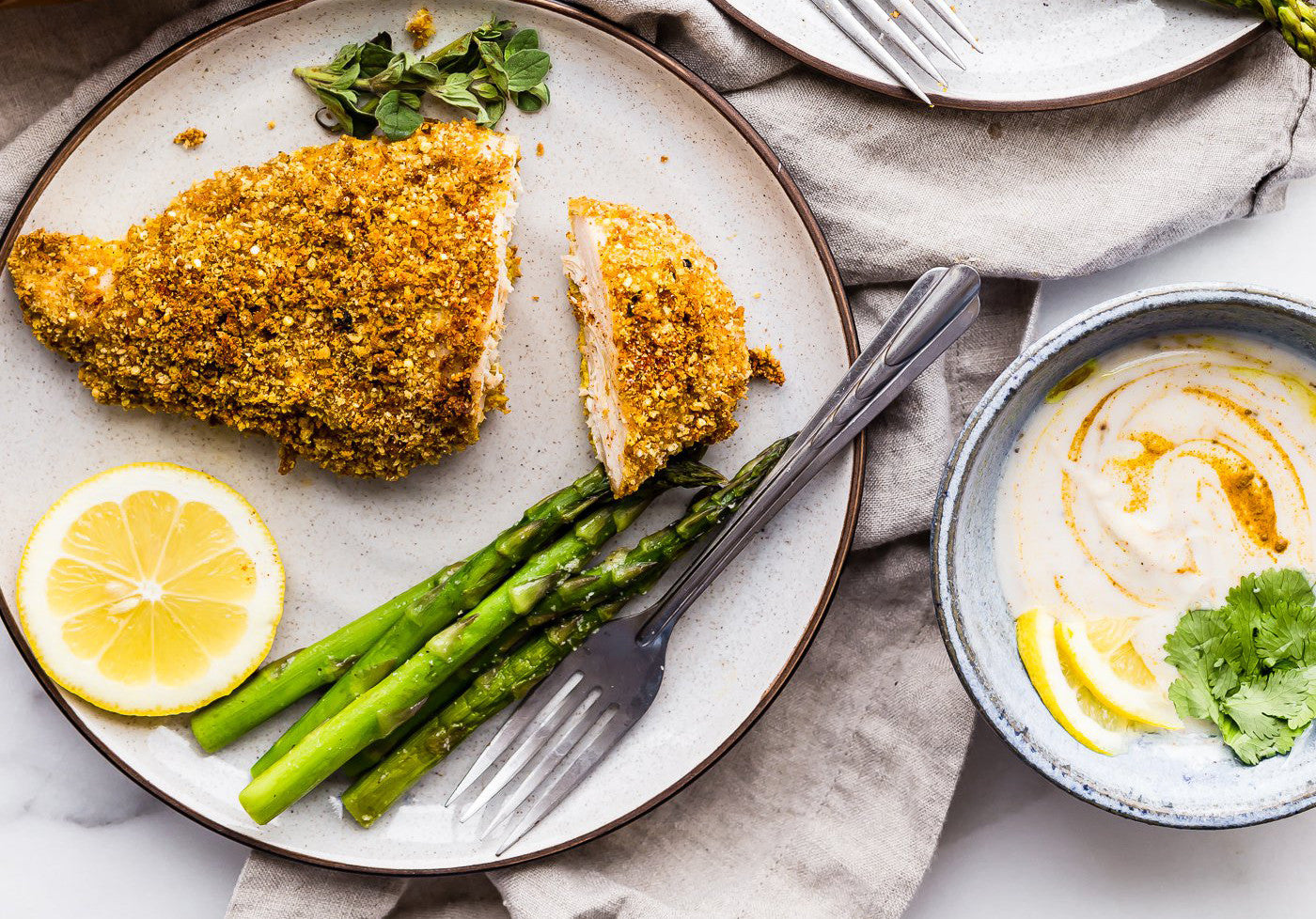 Panko Crusted Paprika Chicken