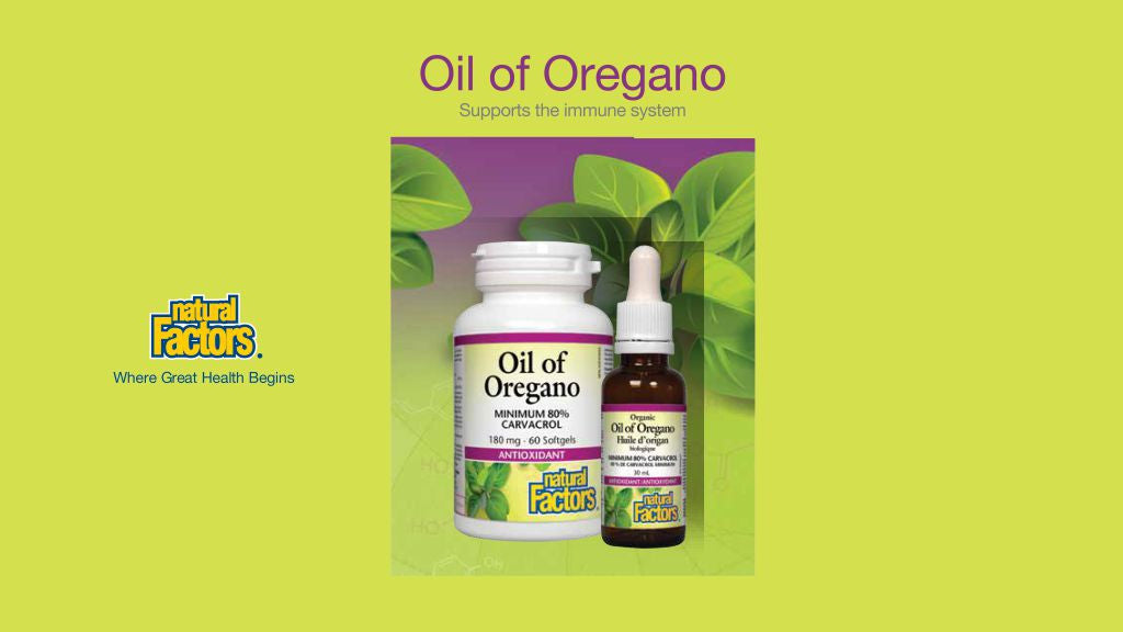 Oil of Oregano Supports the Immune System