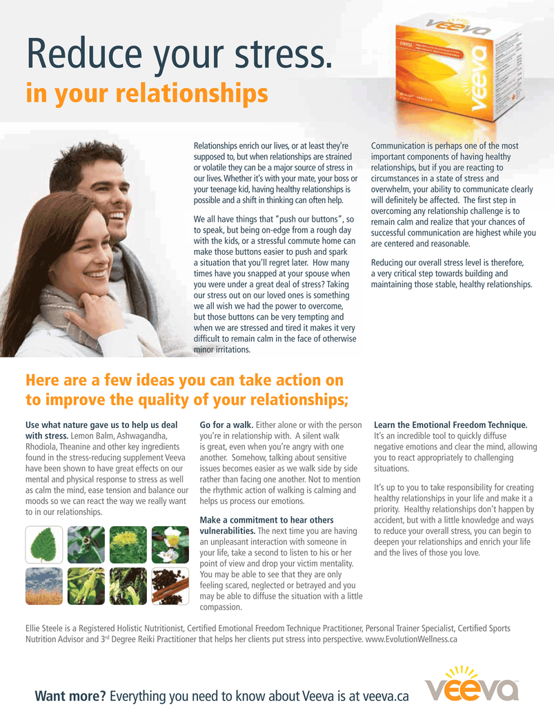 373625bc33654 Reduce Your Relationship Stress – Natural Food Pantry Online Store