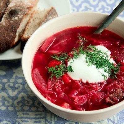Hearty Winter Borscht