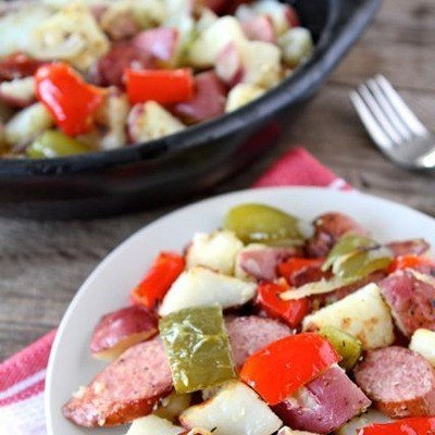 Quick & Easy Sausage Bake