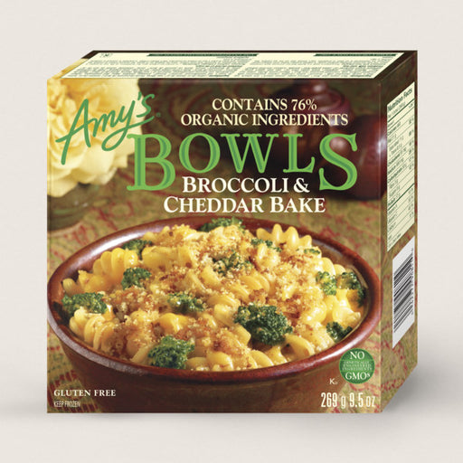 Amy's Bowl G/F Broccoli & Cheddar 269g