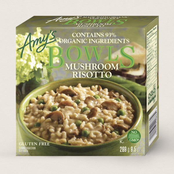 Amy's Bowl G/F Mushroom Risotto 269g