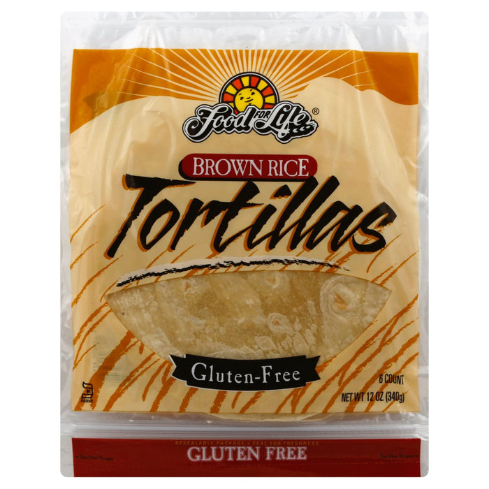 Food For Life Brown Rice Tortilla 340g