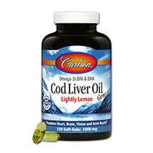 Carlson Lightly Lemon Cod Liver Oil