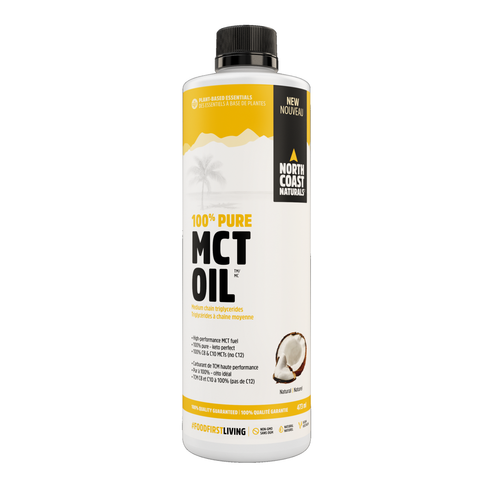 North Coast Naturals 100% Pure MCT Oil 473ml