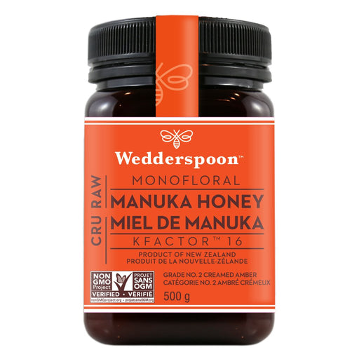 Wedderspoon Raw Premium Manuka Honey KFactor 16+ 500g