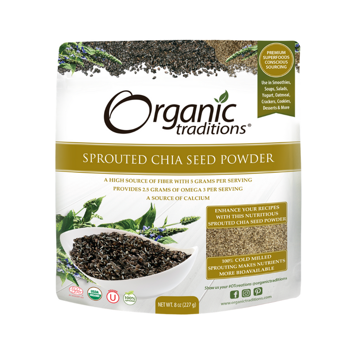 Organic Traditions Sprouted Chia 227g