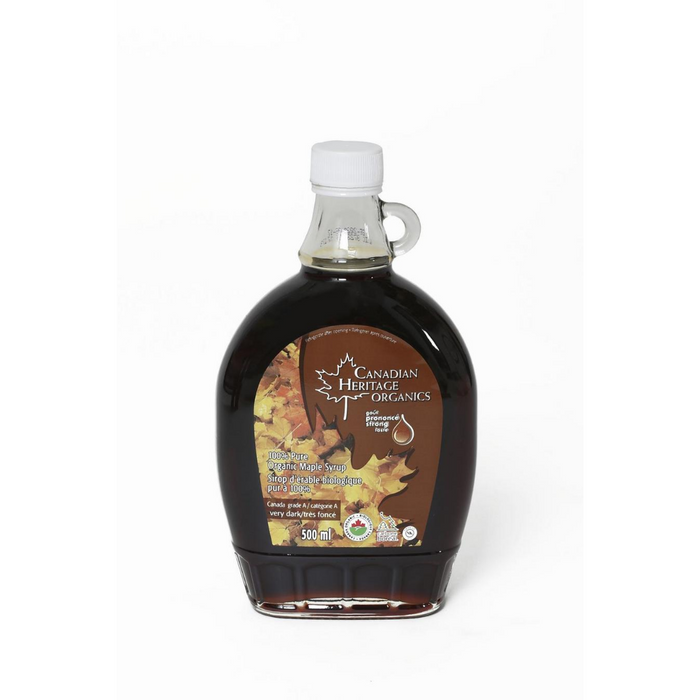 Canadian Heritage Maple Syrup Medium Grade A Very Dark 500ml