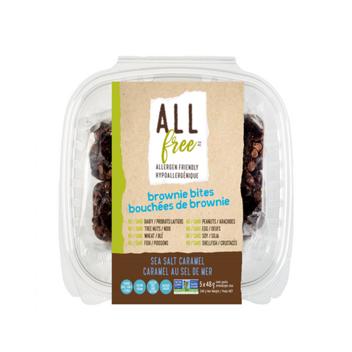 All Free Seal Salt Caramel Brownie Bites