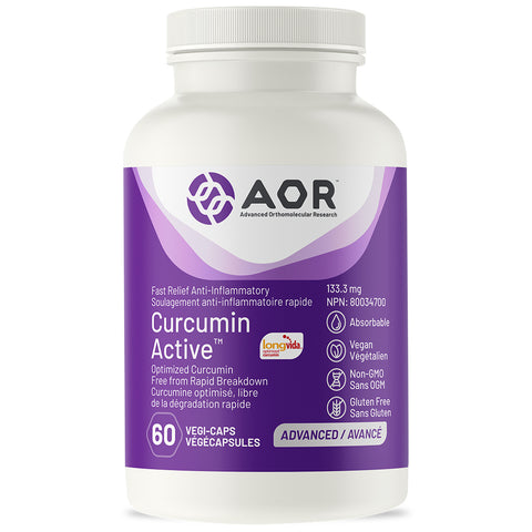 AOR Curcumin Active 60 vcaps Best Buy