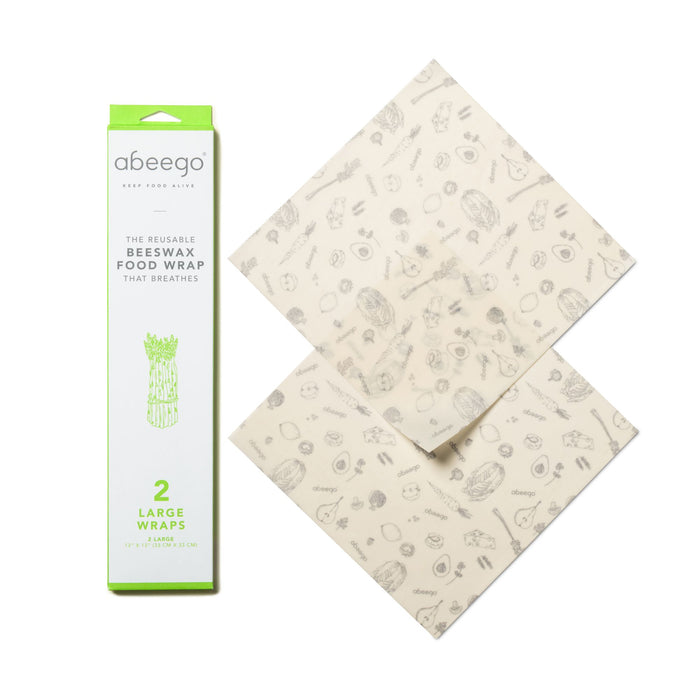Abeego Beeswax Food Wraps Large 13x13