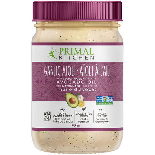 Primal Kitchen Garlic Aoili Mayo