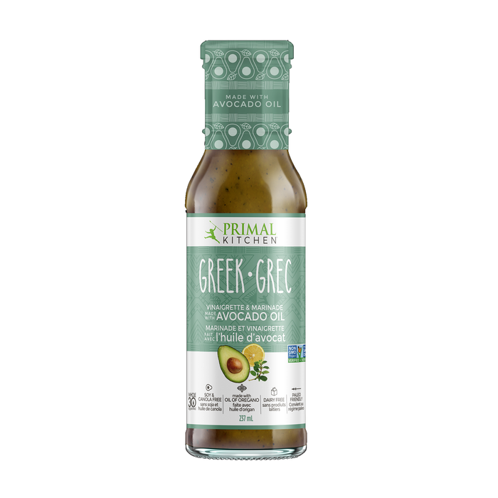 Primal Kitchen Greek Vinaigrette & Marinade 237ml