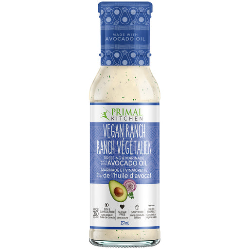 Vegan Ranch Salad Dressing: Primal Kitchen
