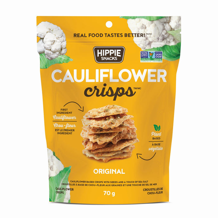 Hippie Snacks Cauliflower Crisps