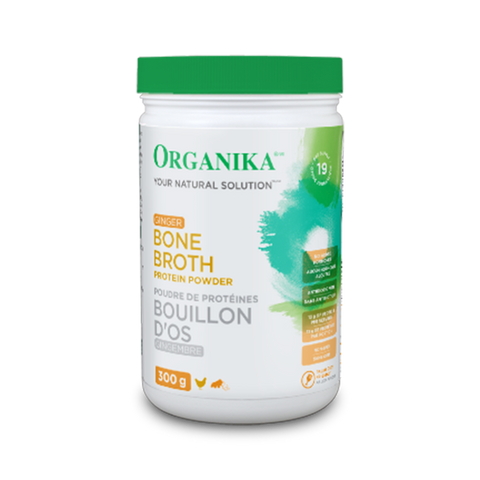 Organika Bone Broth Ginger Protein Powder