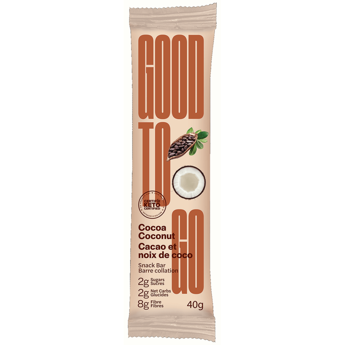 Good To Go Bar Cocoa Coconut 40g