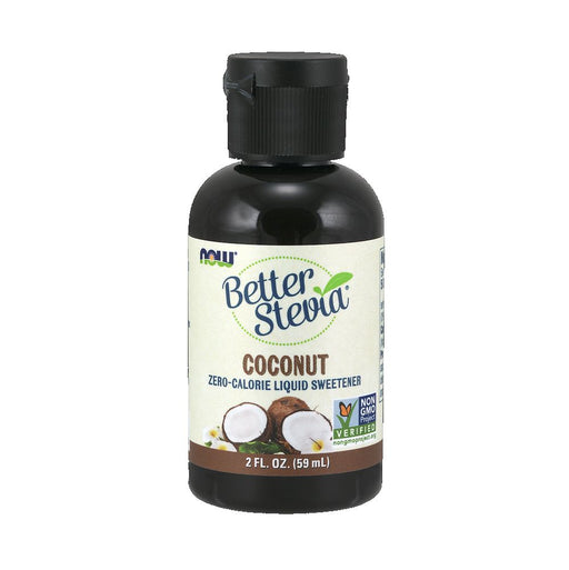 NOW BetterStevia Liquid Coconut 60ml