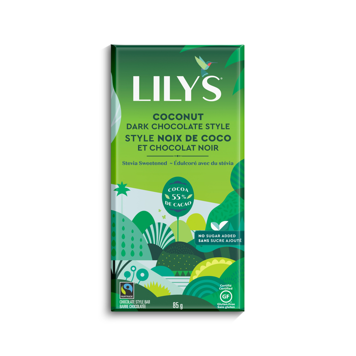 Lily's Dark Chocolate Bar Coconut