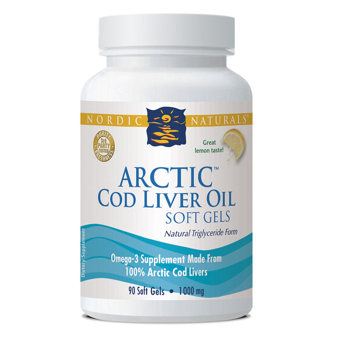 Nordic Naturals Cod Liver Oil 90 caps At Natural Food Pantry