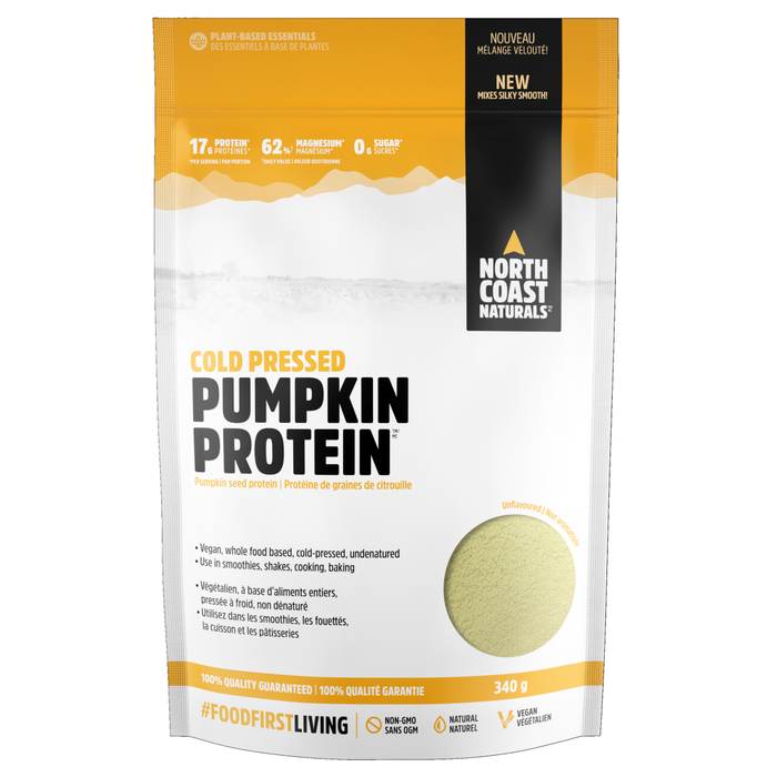 North Coast Naturals Cold Pressed Pumpkin Protein 340g