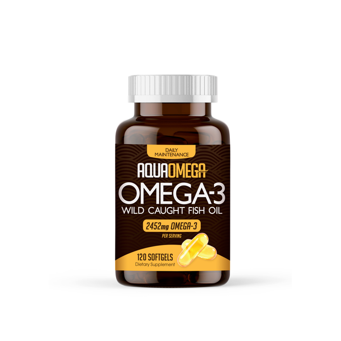 Aquaomega 3:1 Daily Maintenance Apple 120 softgels
