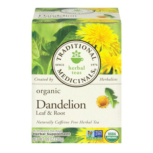 Traditional Medicinals Dandelion Leaf & Root Tea