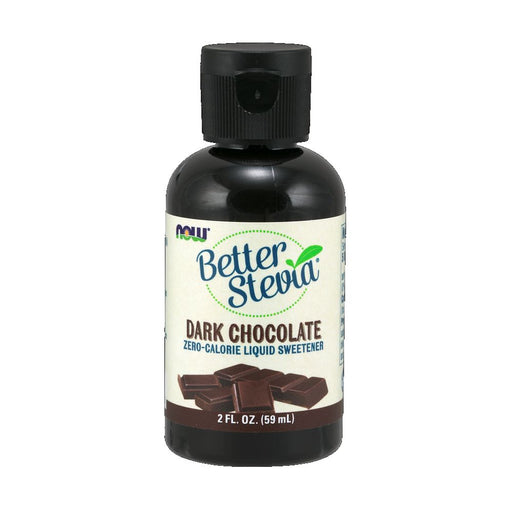NOW BetterStevia Liquid Dark Chocolate