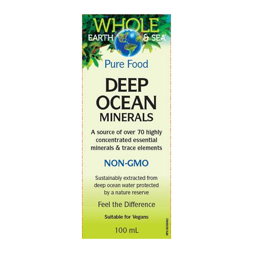 Natural Factors Whole earth and sea Deep ocean minerals