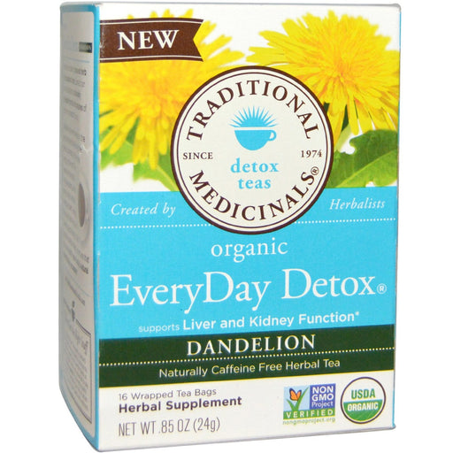 Traditional Medicinals Everyday Detox with Dandelion Tea