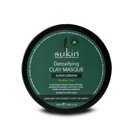 Sukin Detoxifying Clay Masque 100 ml