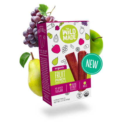 Wildmade Fruit Rolls: Fruit Punch 60g