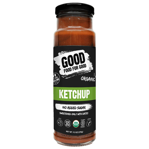 Good Food For Good Organic Sugar-Free Ketchup