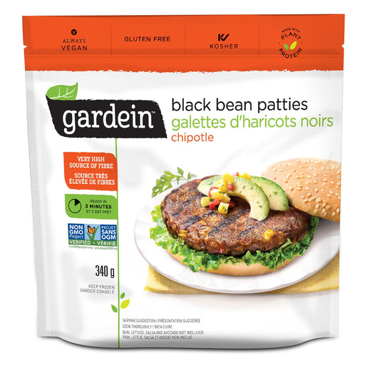 Gardein Black Bean Burger 340g