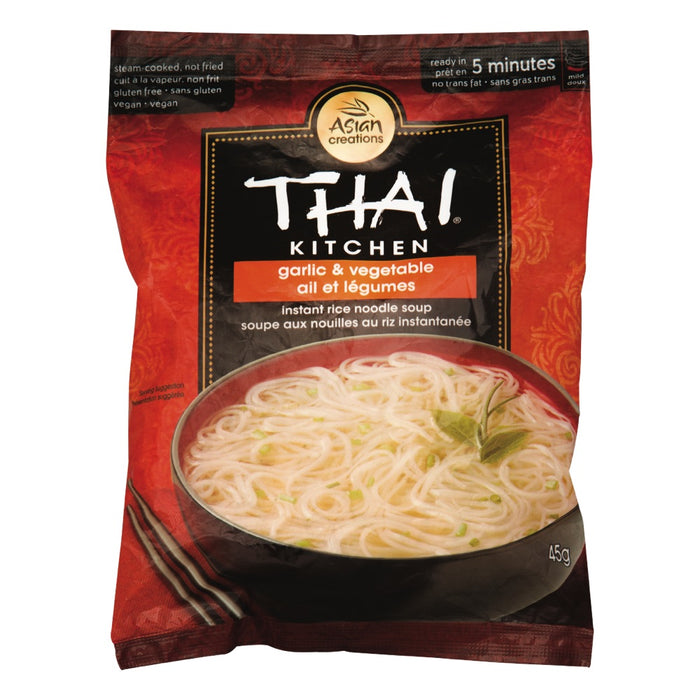 Thai Kitchen Garlic and Vegetable Instant Noodle 45g