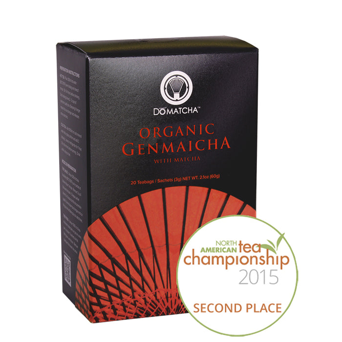 DoMatcha Organic Gen Maicha with Matcha Tea Blend 20 Teabags
