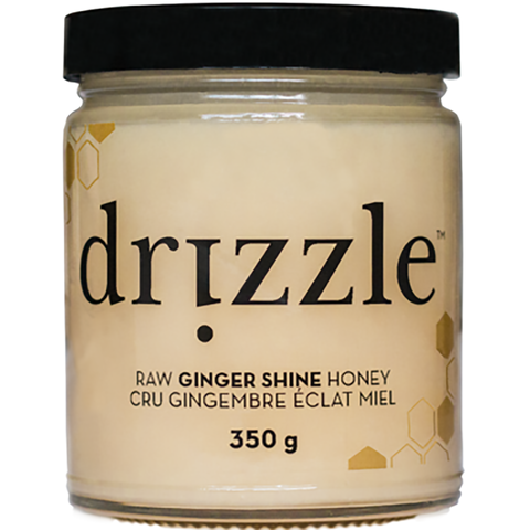 Drizzle Ginger Shine Raw Honey 350g