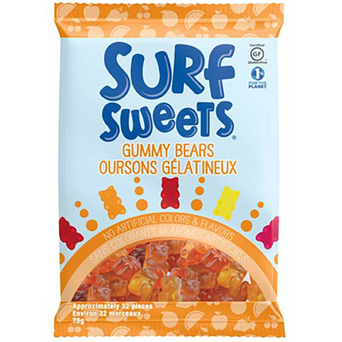 Surf Sweets Gummy Bears 78g