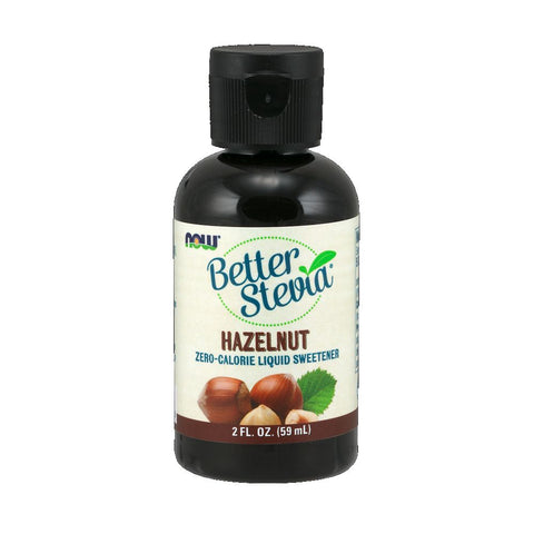 NOW BetterStevia Liquid Hazelnut 60ml
