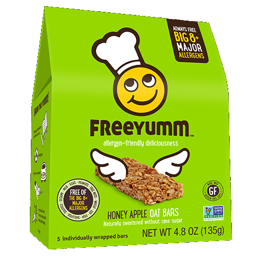 FreeYumm G/F Honey Apple Oat Bar